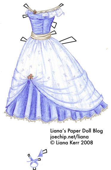 bella swan s hyacinth blue prom dress from twilight by stephenie meyer liana 39 s paper dolls. Black Bedroom Furniture Sets. Home Design Ideas