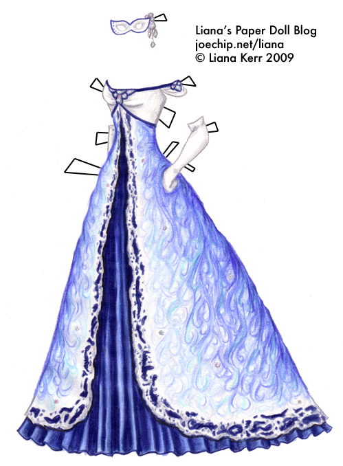 ball gown dress drawings - photo #28