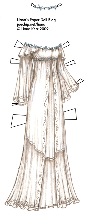 Galadriel Lord Of The Rings Dress